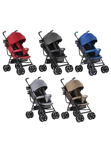 BabyHope BabyHope SA-7 Baston Bebek Arabası Kırmızı